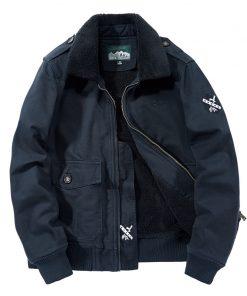 BOLUBAO Men Military Style Jackets Winter Brand Plus Velvet Thickening Men's Jacket New Male Fashion Comfortable Jacket Coats 2