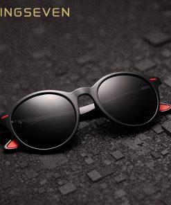 KINGSEVEN TR90 Vintage Men Sunglasses Polarized Oval Frame Sun glasses Women Men Unisex Night Vision Goggles Oculos De Sol 1