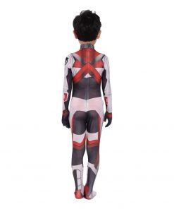 Costume Jumpsuit Uniform Iron Halloween Costume Black Widow White Quantum Space Time Travel Suits 2