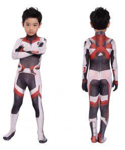 Costume Jumpsuit Uniform Iron Halloween Costume Black Widow White Quantum Space Time Travel Suits 1