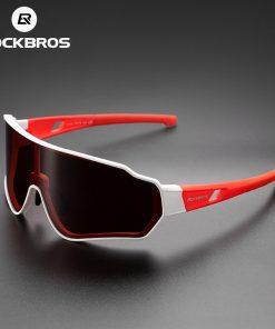 ROCKBROS Cycling Glasses Men Women Photochromic Outdoor Sport Hiking Eyewear Polarized Sunglasses Inner Frame  Bicycle Glasses 2