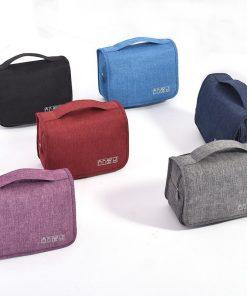 Women Men Business Cosmetic Bag Hanging Portable Waterproof Organizer Wash Travel Makeup Case Beauty Toiletry Make Up Kit Box 3