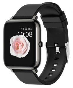 Smart Fitness Sport Men Women Watch Full Screen Touch Heart Rate Tracker Waterproof Call Message Reminder Smartwatch Watches P22 1
