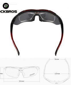 ROCKBROS Polarized Cycling Glasses Men Sports Sunglasses Road MTB Mountain Bike Bicycle Riding Protection Goggles Eyewear 5 Lens 2
