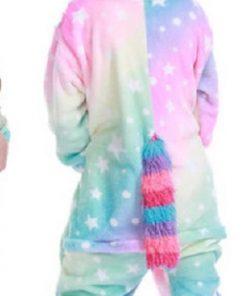 Kigurumi New Winter Unicorn Pajamas For Children  Animal Pyjamas Kids Panda Licorne Onesie Boys Girls Sleepwear Unicornio Jumpsu 1