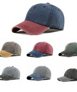 2019 Baseball Cap Women Men Snapback Caps Unisex bone Cotton Cap Spring Summer Adjustable Sport Hat dad hat Washed Caps  gorras 2
