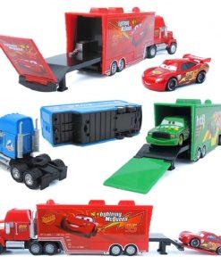 Disney Pixar Cars 3 toys Lightning McQueen 1:55 Diecast  Jackson Storm Mater Metal Alloy Model Children's Birthday Gift Boy Toys 1