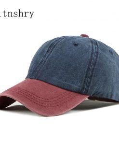 2019 Baseball Cap Women Men Snapback Caps Unisex bone Cotton Cap Spring Summer Adjustable Sport Hat dad hat Washed Caps  gorras 1