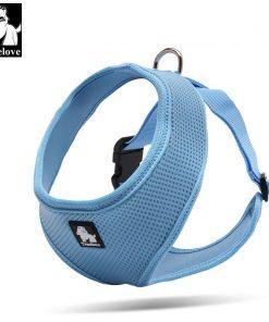 Truelove Puppy Cat Pet Dog Harness Breathable Mesh Nylon Dog Harness Strap Soft Walk Vest Collar For Small Medium Dog 8color 2