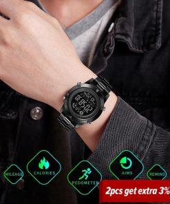 SKMEI Smart Fashion Sports Watch Men Life Waterproof No Charge Endurance Ability Bluetooth Motion Track reloj inteligente 1500 2