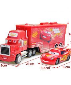 Disney Pixar Cars 3 toys Lightning McQueen 1:55 Diecast  Jackson Storm Mater Metal Alloy Model Children's Birthday Gift Boy Toys 2
