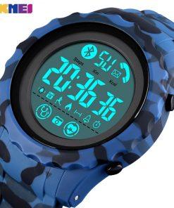 SKMEI Bluetooth Sport Mens Watch APP Call Reminder Wrist Smart Watch Heart Rate Watches Men Luminous reloj inteligente 1626 1