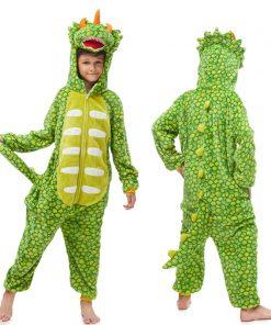 Kids Licorne Onesie Unicorn Pajamas For Children Animal Dinosaur Blanket Sleepers Baby Costume Winter Boy Girl Licorne Jumspuit 2