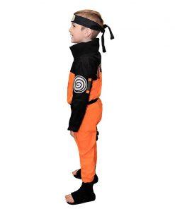 2020 Calssic Anime Cosplay Naruto children Cosplay Costumes juvenile Uzumaki Naruto kids  Free Shipping 2