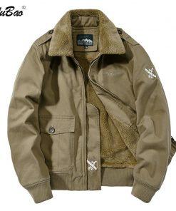 BOLUBAO Men Military Style Jackets Winter Brand Plus Velvet Thickening Men's Jacket New Male Fashion Comfortable Jacket Coats 1