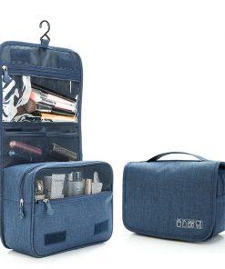 Women Men Business Cosmetic Bag Hanging Portable Waterproof Organizer Wash Travel Makeup Case Beauty Toiletry Make Up Kit Box 1