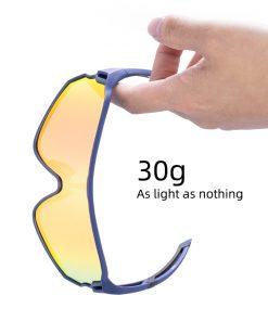 ROCKBROS Cycling Glasses MTB Road Bike Polarized Sunglasses UV400 Protection Ultra-light Unisex Bicycle Eyewear Sport Equipment 2