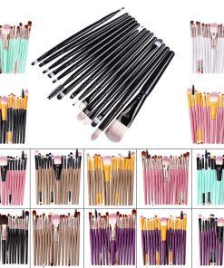Makeup Brushes Set 15Pcs Eye Shadow Foundation Blush Brush Powder Blending Eyesbrow Women Beauty Make up Brush Cosmetic Tool Kit 1