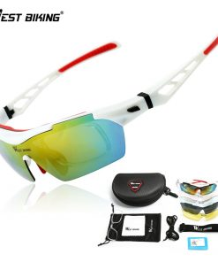WEST BIKING Polarized Cycling Glasses UV Bikes Bicycle Eyewear 5 Lens Goggles Myopia Frame Gafas Ciclismo Oculos Cycling Glasses 2