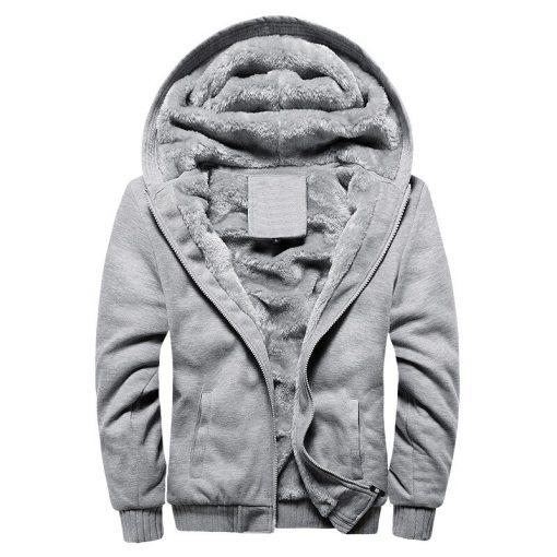 BOLUBAO Fashion Brand Men's Jackets Autumn Winter New Men Plus velvet Thickening Jacket Male Casual Hooded Jacket Coats 4