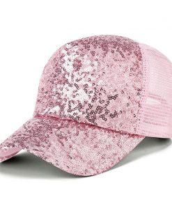2019new fashion women's mesh baseball cap for girl summer cap snapback Hat for men bone garros adjustable casquette fashion hat 1