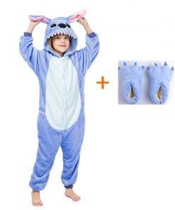 Adult Animal Unicorn Licorne Onesie Pajama Women Men Boys Girls Couple 2020 Winter Pajamas Suit Sleepwear Flannel Pijama 1