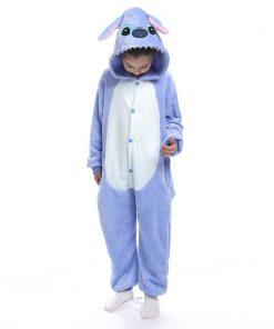 Kigurumi Unicorn Pajama Child Boys Winter Flannel Licorne Pajamas Kids Panda Pyjamas Sleepwear Oneise Girls Pijamas for 4-12 Y 2