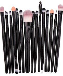 Makeup Brushes Set 15Pcs Eye Shadow Foundation Blush Brush Powder Blending Eyesbrow Women Beauty Make up Brush Cosmetic Tool Kit 2