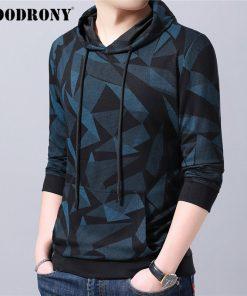 COODRONY Brand Mens Hoodies Streetwear Fashion Pattern Pullover Hoodie Men Autumn Winter Casual Hooded Sweatshirt Men Tops 94008 2