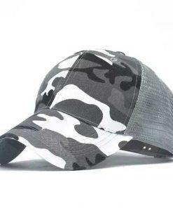2019 new Camo Mesh Baseball Cap Men Camouflage Bone Masculino Summer Hat Men Army Cap Trucker Snapback Hip Hop Dad Hats Gorra 2