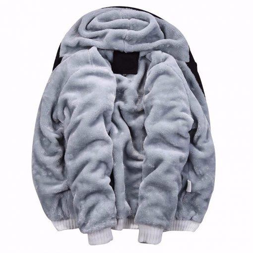 BOLUBAO Fashion Brand Men's Jackets Autumn Winter New Men Plus velvet Thickening Jacket Male Casual Hooded Jacket Coats 5