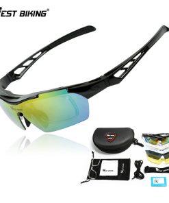 WEST BIKING Polarized Cycling Glasses UV Bikes Bicycle Eyewear 5 Lens Goggles Myopia Frame Gafas Ciclismo Oculos Cycling Glasses 1